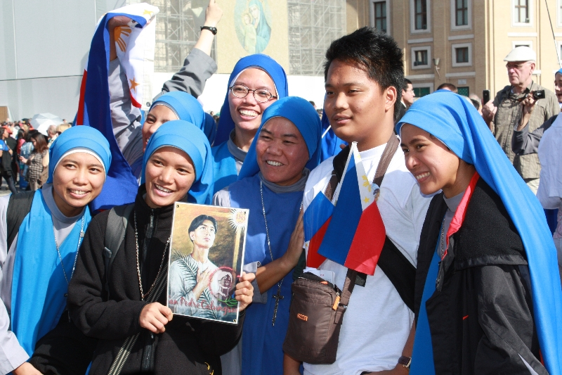 Filipino\'s here for Pedro Calungsod