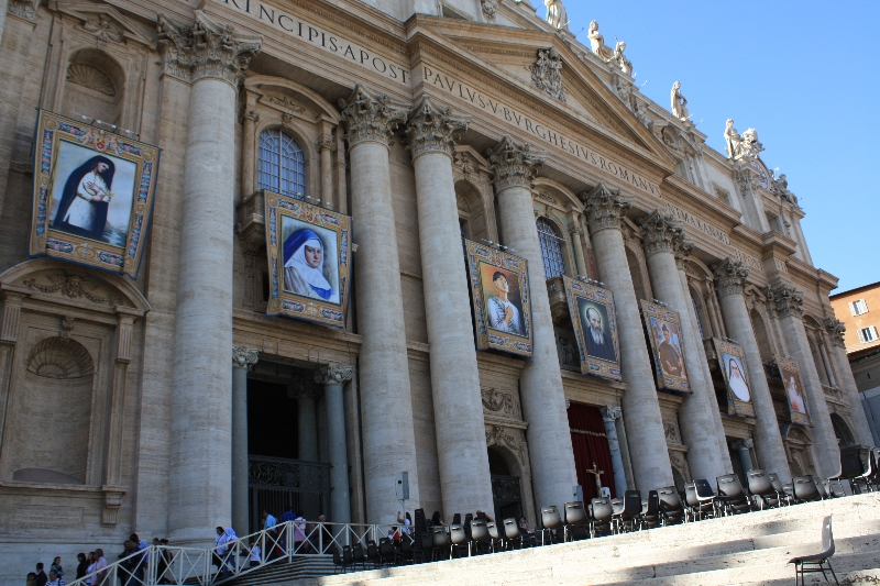 Banners on St. Peter\'s
