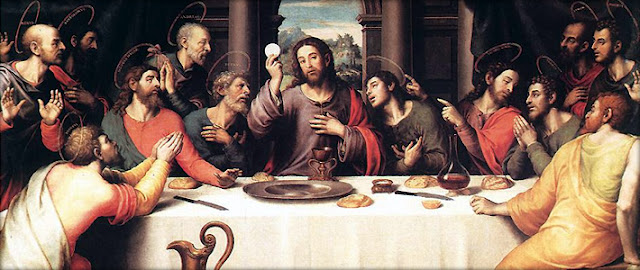 The Last Supper, by Juan de Juanes, 1560