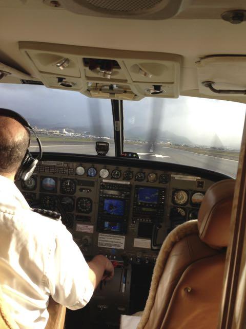 Flight to Kalaupapa