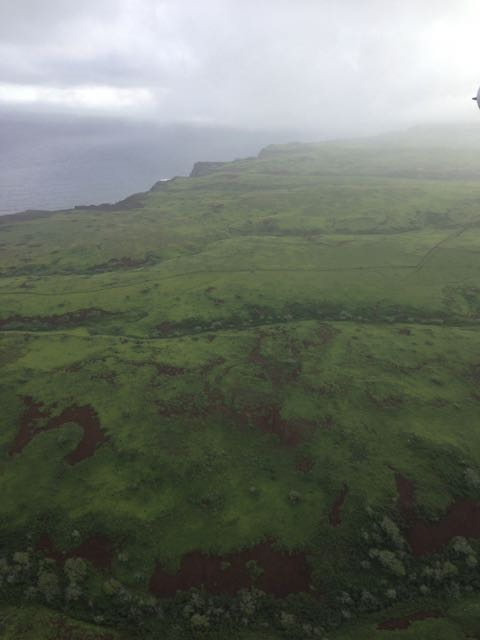 Molokai from the air