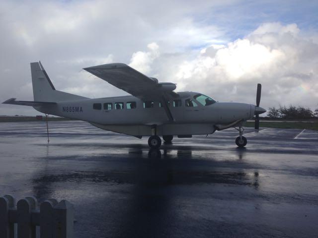 Plane at Kalaupapa airport