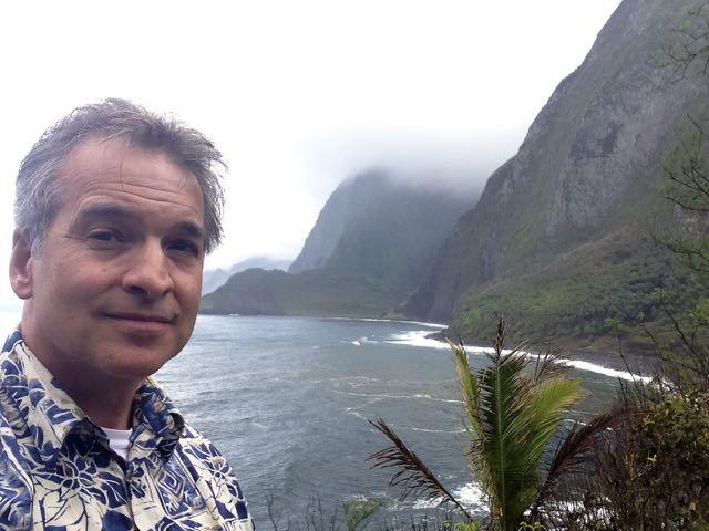 Paul at Kalawao bay